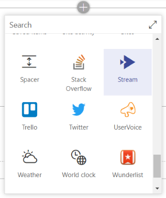 stream in sharepoint