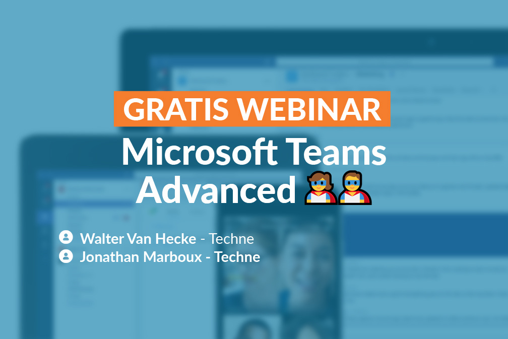 Teams advanced Webinar