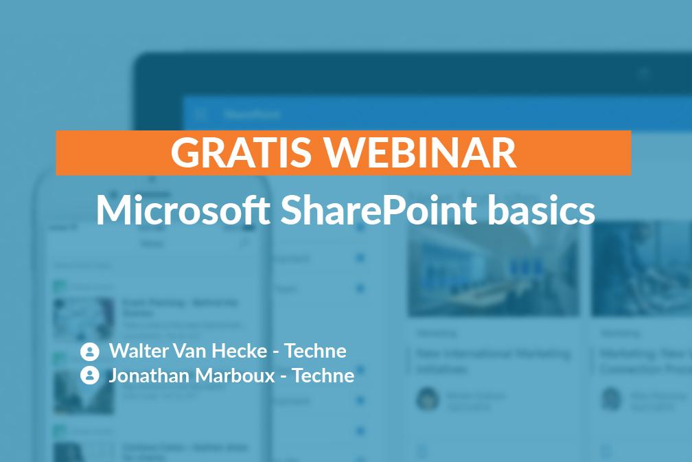 webinar sharepoint basics